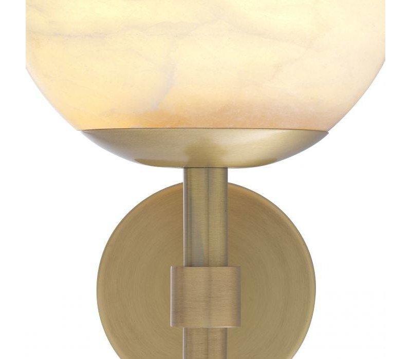 Wandlampe 'Jade' - Albaster