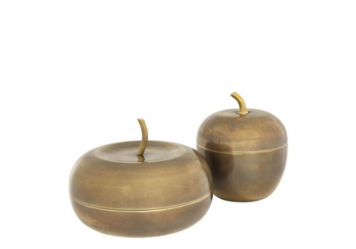 EICHHOLTZ Box Apple set of 2