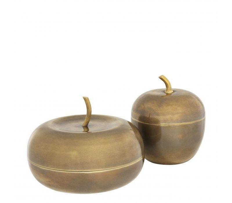 Box 'Apple' set of 2