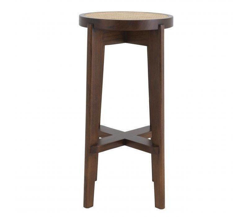 Bar Stool 'Dareau' - Brown