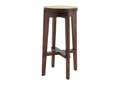 EICHHOLTZ Bar Stool Dareau - Brown
