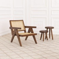 Stool 'Aristide' - Brown