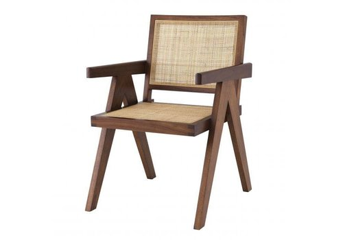 EICHHOLTZ Dining chair Aristide - Brown