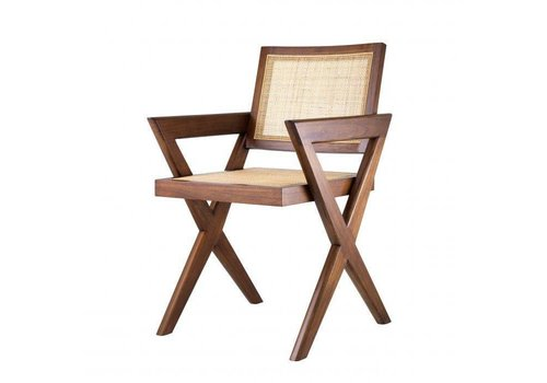 EICHHOLTZ Dining chair Augustin - Brown