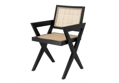EICHHOLTZ Dining chair Augustin - Black