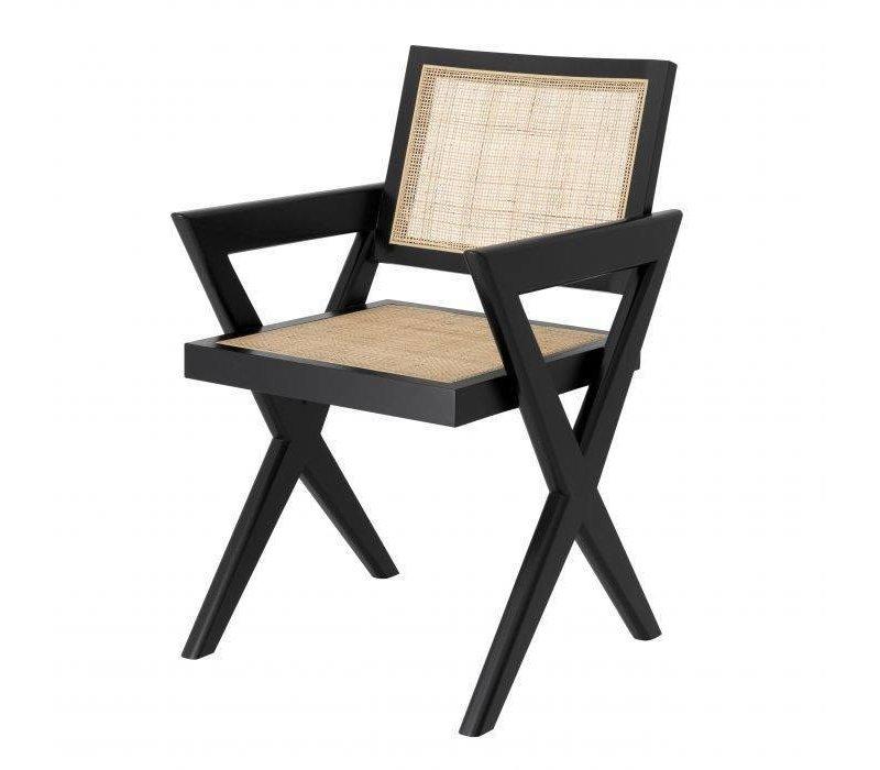 Dining chair 'Augustin' - Black