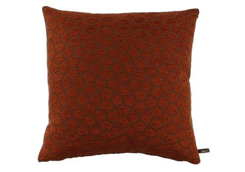 CLAUDI Cushion Bobbi Burned Orange