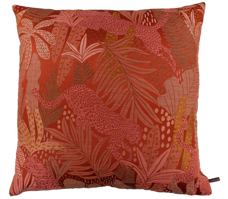Throw pillow Penya Burned Orange