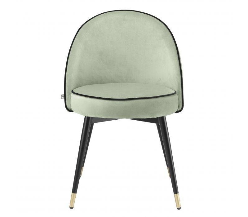 Dining chair 'Cooper' set of 2 - Pistache green