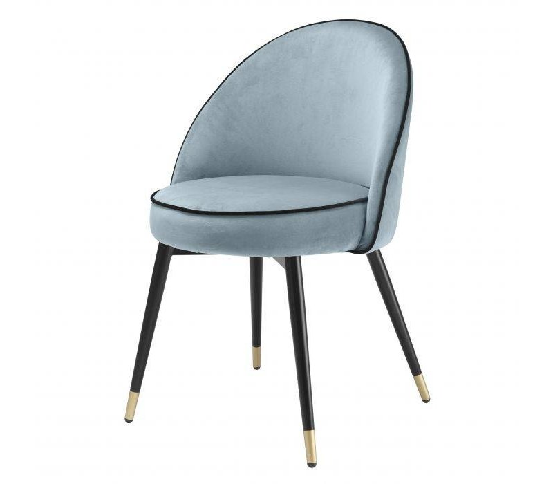 Dining chair 'Cooper' set of 2 - Blue
