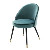 Esszimmerstuhl 'Cooper' 2er Set - Turquoise
