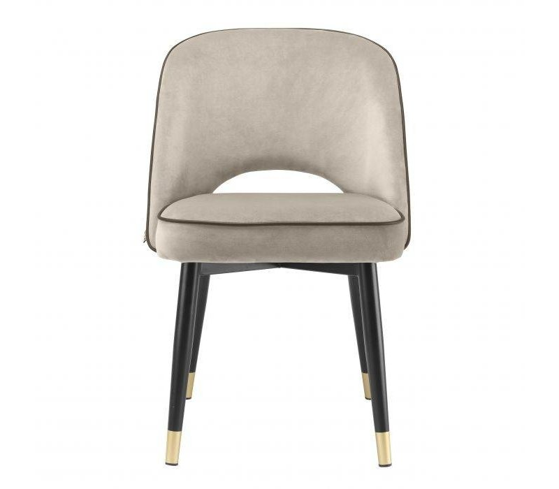 Dining chair 'Cliff' set of 2 - Savona greige