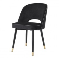 Dining chair 'Cliff' set of 2 - Roche black