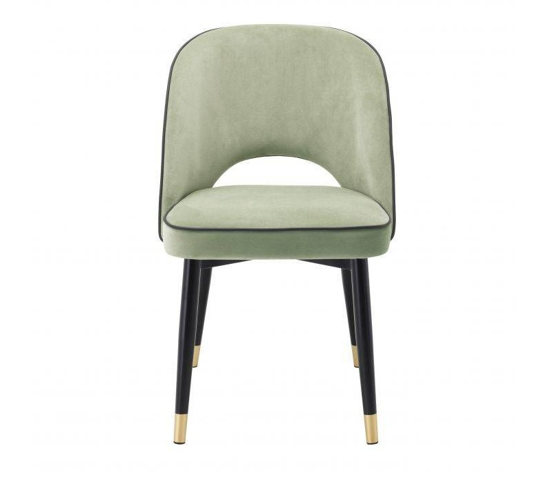 Dining chair 'Cliff' set of 2 - Savona pistache green