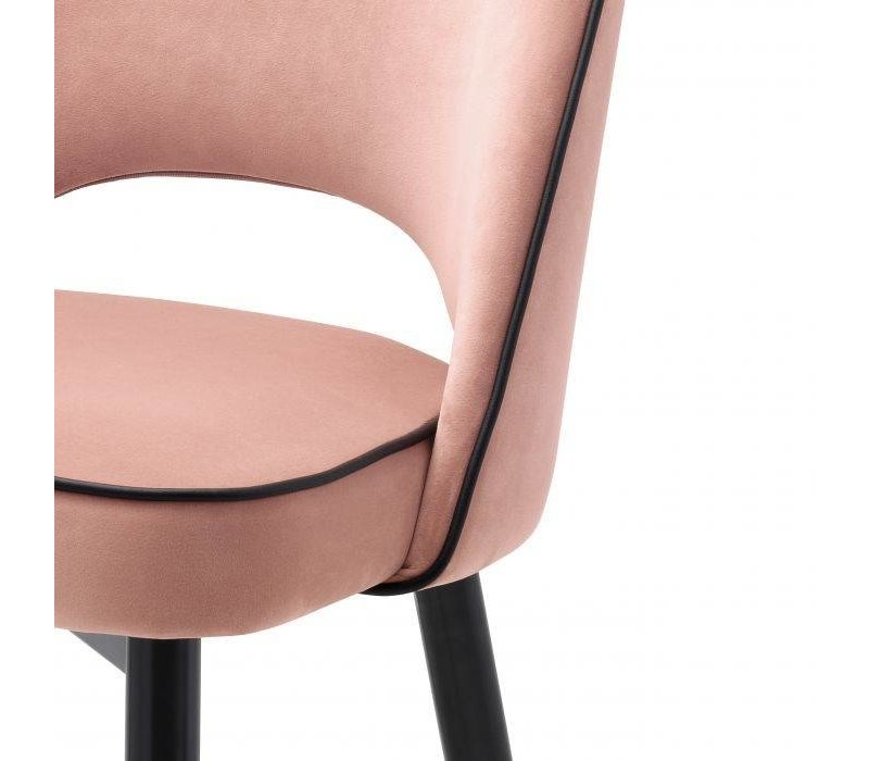 Dining chair 'Cliff' set of 2 - Savona nude