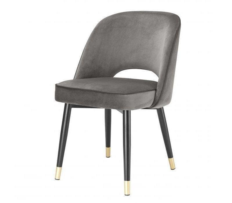 Dining chair 'Cliff' set of 2 - Savona grey
