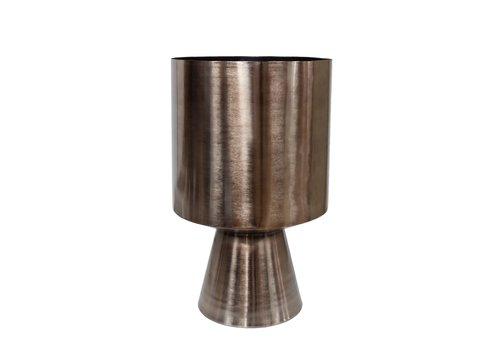 Dome Deco Plantenbak bronze aluminium