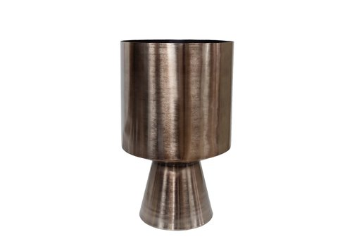 Dome Deco Planter bronze aluminum