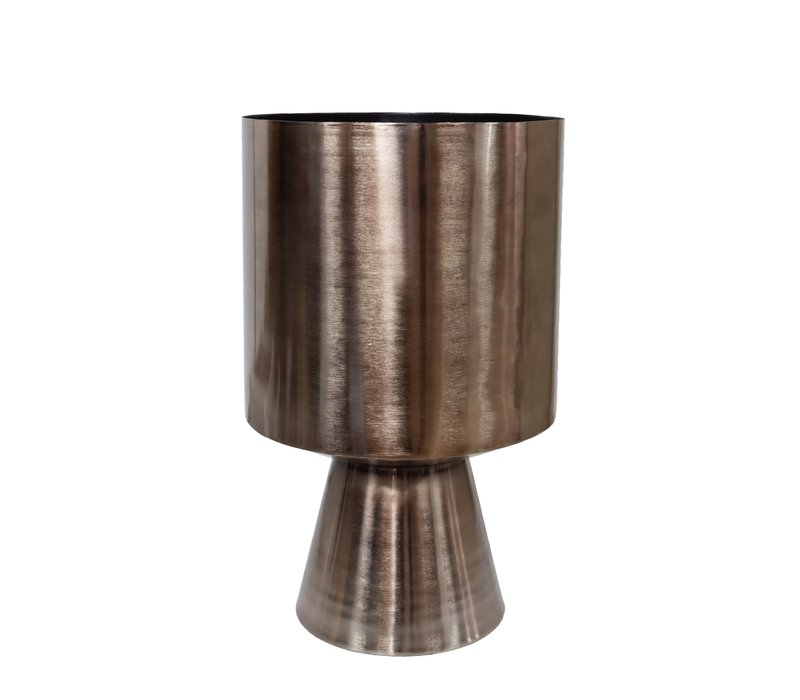 Plantenbak bronze aluminium