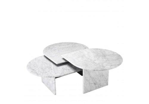 EICHHOLTZ Coffee table Naples Set of 3