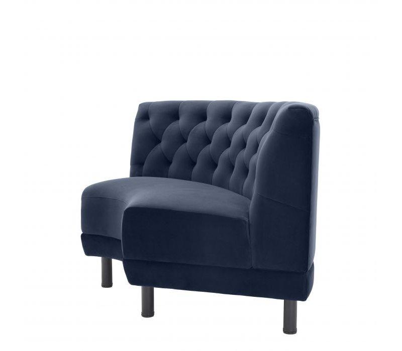 Corner Sofa 'Rochdale' - Savona midnight blue