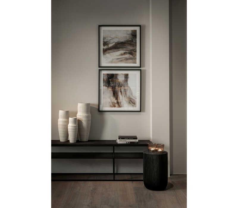 Console table 'Geneva' - Wood black