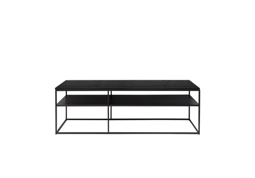 Dome Deco Console table 'Geneva' - Wood black