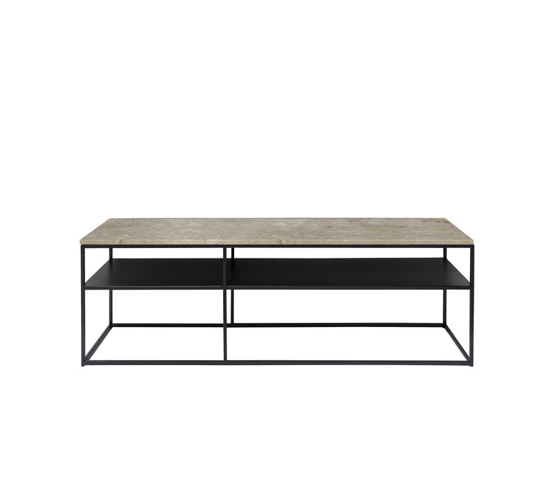 Console tafel 'Geneva' - travertine