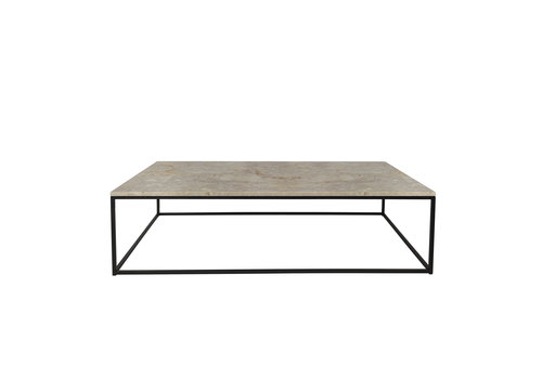 Dome Deco Coffee table 'Geneva' - travertine