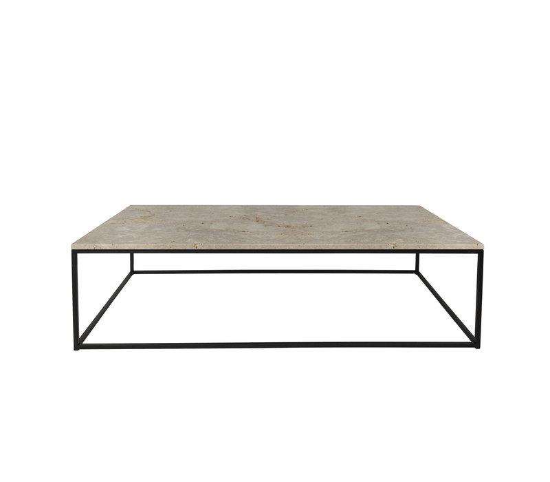 Coffee table 'Geneva' - L130 x W70 x H38 cm