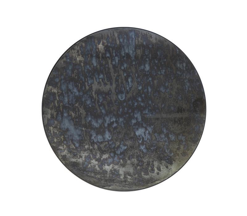 Der runde dekorative Spiegel 'Antique' hat einen Durchmesser von 120 cm