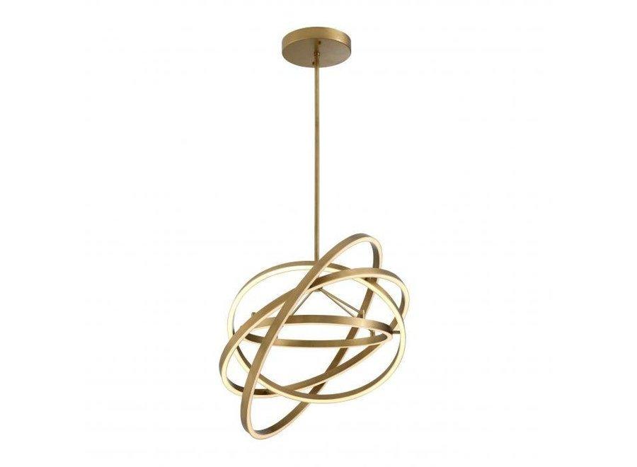 Chandelier Cassini - antique brass