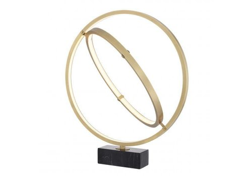 EICHHOLTZ Tischlampe Cassini - Antique brass