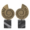 EICHHOLTZ Decoration object 'Ammonite' set of 2