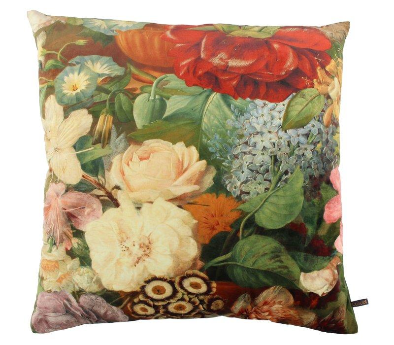 Cushion Bibi Antique Flower Multi Color