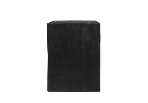Dome Deco Square side table 'wood' Black