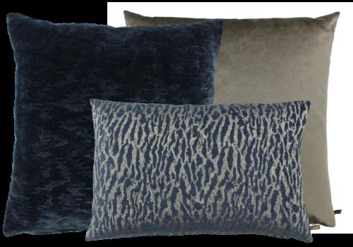 CLAUDI Cushion combination Denim Taupe: Bandi, Ganny & Bonny