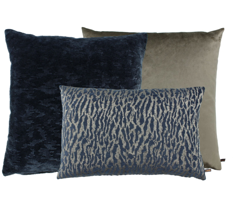 Cushion combination Denim Taupe: Bandi, Ganny & Bonny