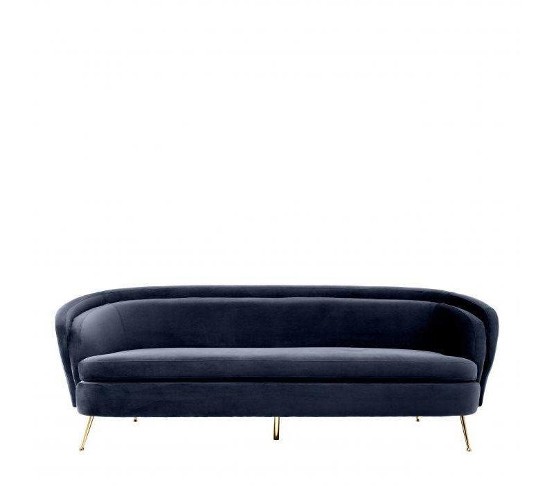 Sofa 'Orion' - Savona midnight blue