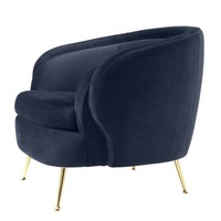 Sessel 'Orion' - Savona midnight blue