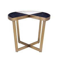 Side Table 'Turino' Brushed Brass