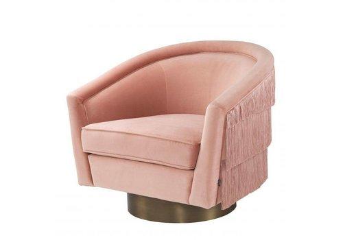EICHHOLTZ Swivel armchair Le Vante - Nude