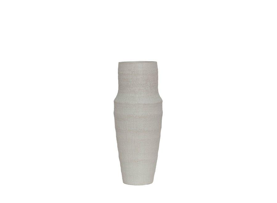 Ceramische vaas 'White' - S