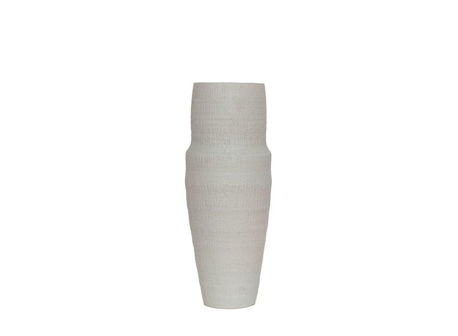 Ceramische vaas 'White' - M
