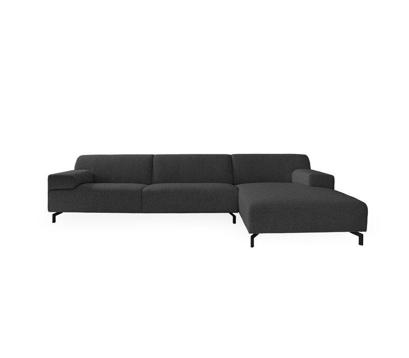 Lounge sofa 'Lugano' Brema Anthracite