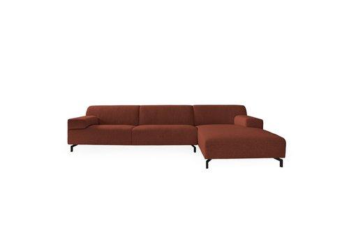 Dome Deco Lounge sofa 'Lugano' Paris Orange