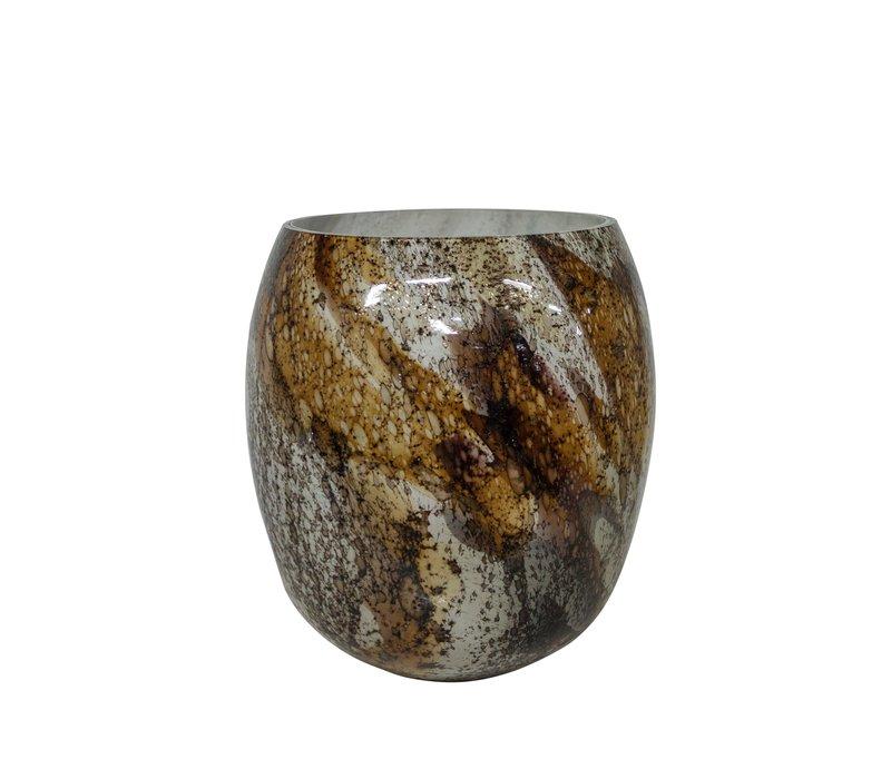 Glass vase 'Multicolor' - L