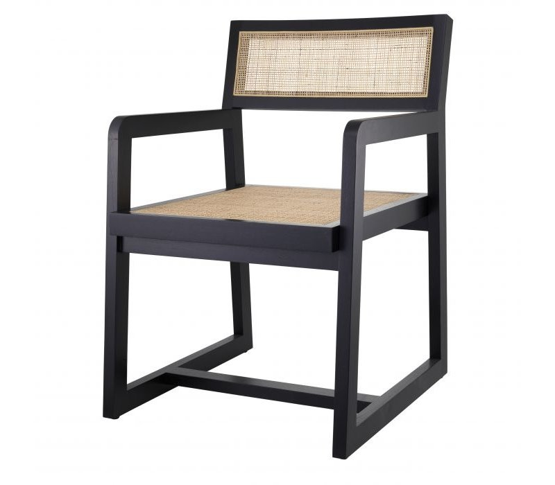 Dining chair 'Dinant' - Black