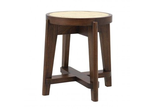 EICHHOLTZ Stool Dareau - Brown