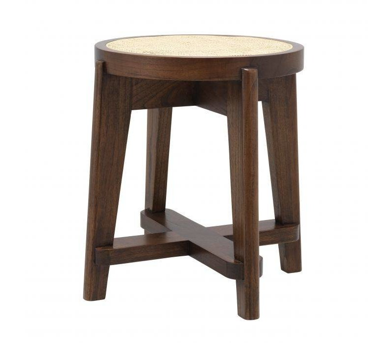 Stool 'Dareau' - Brown
